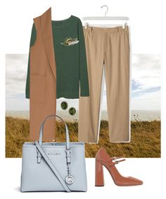 """""""Поле"""" by angelina-nota ❤ liked on Polyvore featuring Banana Republic, MANGO, Alexander Wang, Rochas, Michael Kors, Anne Klein and 1928"""