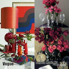#InteriorDesign #FloralDesign #FloralArrangements #livingdecor #coffeetabledecor @LolitaEspejo  for @AngelaMariaHS
