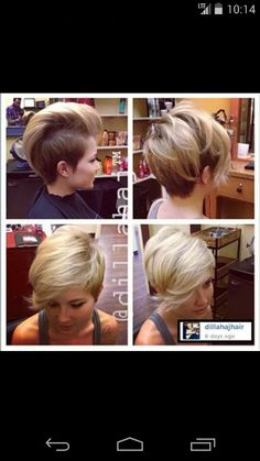 Cute pixie... you can style different ways. Btc.com
