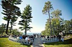 The Homestead was recognized by Frommer's as one of Pure Michigan's top wedding destinations.