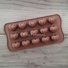 15 Heart with Water Drop Silicone Mold Bakeware Baking Chocolate Cake Candy Pastry Ice Butter Jello Homemade Craft Mould DIY >>> Details can be found by clicking on the image.