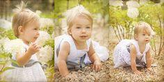...czas zamknięty w kadrze - Fotografia dziecięca: Florentyna - chrzciny i plener