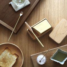 oji Masanori home page / my ideal breakfast scenario love the butter dish
