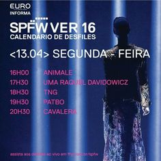 {SPFW Ver/16} Hoje começa a nova edição do @spfw que começa ás 16h00 (horário de Brasília). Essa edição comemora os 20 anos de SPFW! O que você está esperando para ver por aqui do SPFW? ------------------------------------- {SPFW Ver/15} Today starts the new @spfw edition that begins at 4pm. São Paulo Fashion Week celebrates the 20th edition! What do you expect to see here from the catwalks?    www.charmecharmosa.com    #blogcharmecharmosa #blogger #blog #beauty #beaute #beleza #make #makeup…