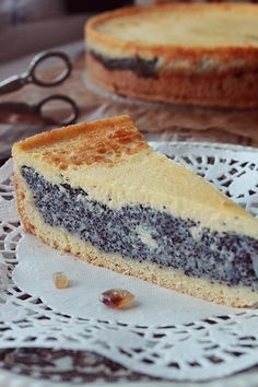 My lovely cake - Маковый сметанник
