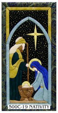 500C-19 Nativity Scene Quilt Magic