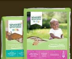 Diapers: Seventh Generation ~ next best thing to cloth diapers it seems (no fragrences, latex, petroleum, or chlorine)