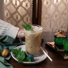 A new year means that it's time to try a new and delicious coffee recipe. Check out this strong and sweet Vietnamese Iced Coffee from Nespresso for a refreshing beverage that you can make in the comfort of your home. Sit back and enjoy the tasty flavors of sweetened condensed milk mixed with a Nespresso Lungo capsule over ice.
