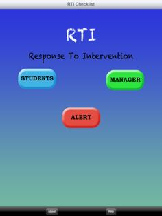 RTI App for progress monitoring- $1.99
