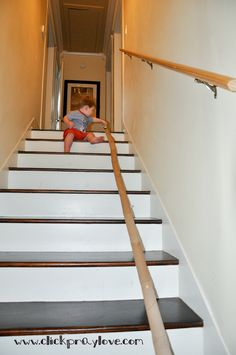 Great activity for practicing stairs using empty paper towel rolls and car. Repinned by SOS Inc. Resources. Follow all our boards at http://pinterest.com/sostherapy for therapy resources.
