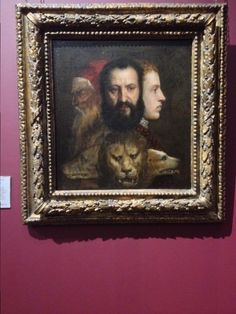 An allegory of prudence quot by titian national gallery london