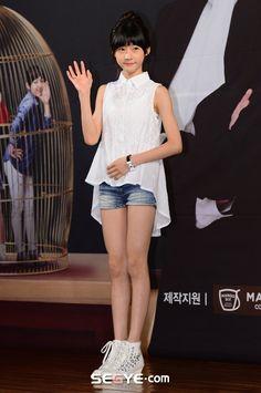 Kim Sae Ron cute summer outfit