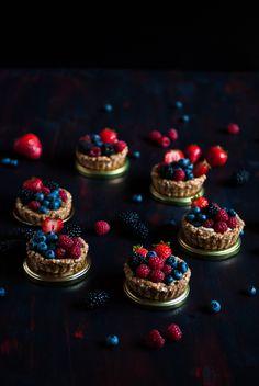 Tartelettes aux fruits rouges - Antigone XXI