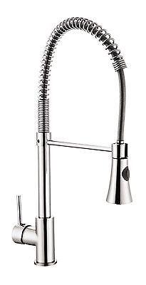 Küchenarmatur Spültisch Armatur Gastro Spiralfeder Brause Wasserhahn Küche  Spüle