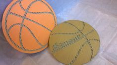 Sports lover, kids name on cardboard handcut and trimmed. Basket Ball, Sustainable Design, Kid Names, Decorative Objects, Rugby, I Shop, Wall Decor, Handmade, Etsy