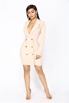 We've gathered our favorite ideas for Enterprise Blazer Dress Blush, Explore our list of popular images of Enterprise Blazer Dress Blush. Sexy Dresses, Fashion Dresses, Dresses For Work, Blush Dresses, Nova Dresses, Mini Dresses, Work Outfits, Pretty Dresses, The Blushed Nudes