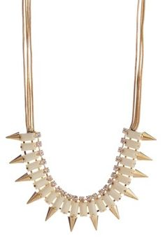 """Spike Crystal Necklace - I'm gonna use the word """"bitchin'"""" here, if that's cool with everyone..."""