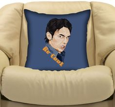 """Be Cool James Franco Double Side Decorative cushion Pillow Case 20"""" $18.89"""