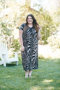 """Sonoma Getaway with Catherines"" lovely in la catherines style ambassador plus size blogger exotic elements maxi dress"