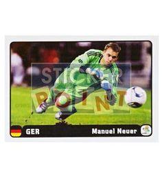 Panini Em Euro 2012 Manuel Neuer Sticker 3 von 6 vorne