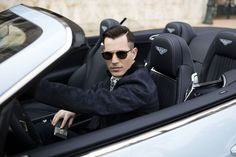 #LeisureSociety #luxury #eyewear - Luxury and lifestyle blogger Tom Claeren shares his experience of the new iconic Monte-Carlo Hôtel de Paris. A magical place for a relaxing getaway. The Bentley he is travelling in has a build in case for his glasses. A great feature for Tom's Antibes in Gold Brown (18k) with clip-ons for perfect vision and good looking shades in one frame.