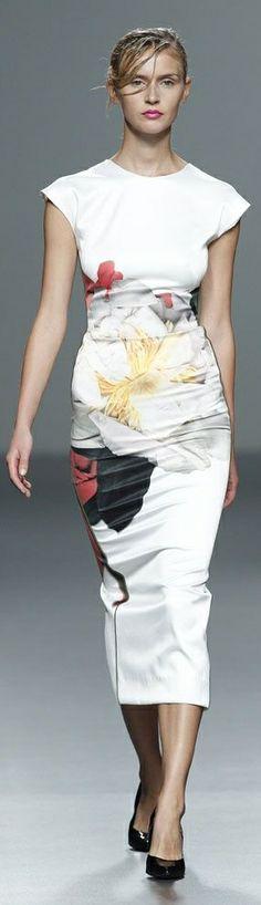 Juan Vidal S/S 2014 ~ Madrid Fashion Week   The House of Beccaria~