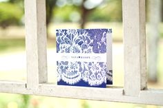 Wedding Stationery, Sarah Alison Boutique Stationery, Lace Couture Invitation
