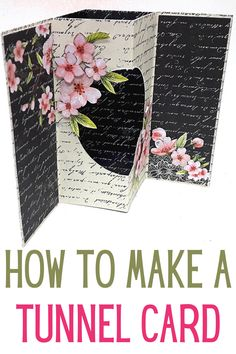Card Making Tutorials, Card Making Techniques, Making Ideas, Fancy Fold Cards, Folded Cards, Swing Card, Birthday Cards For Women, Step Cards, Shaped Cards