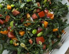 Superfoods salad (just like at Whole Foods). This is my very favorite salad, I think about it all the time.