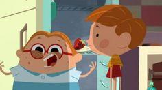 La escena de la serie de dibujos 'Jaime Tentáculos' que ha desatado la polémica.