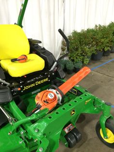 If you are going to train the next generation of landscaper, make sure they have the right equipment. Two great brands that work great together. At the national FFA nursery and landscaping CDE