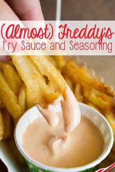 Craving some Freddy's Fry Sauce? Like is similar to their Fry Sauce.