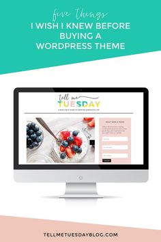 5 Things to Know Before Buying a WordPress theme 5 Things, Things To Know, Making Your Own Website, Blog Website Design, Blog Design Inspiration, Creating A Business, Business Tips, I Wish I Knew, Blogger Tips