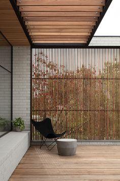 Outdoor Rooms, Outdoor Living, Outdoor Decor, Design Hotel, House Design, Timber Screens, Balkon Design, Backyard Patio, Backyard Landscaping
