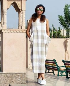 Bhanelove# casual maxi tunic # day out look # fashion