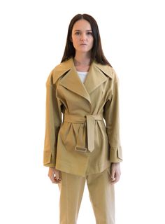 """TRENCH JACKET File Info File is made up of 60 size pages, and instruction booklet. When printing select """"Actual Size"""" in Print setup. A x square is included within the file Measure this to check the file is printing to accurate measurements All p Trench Jacket, Sustainable Fabrics, Sewing Blogs, Cool Things To Make, Paris Fashion, Catwalk, Looks Great, Coat, Pdf"""