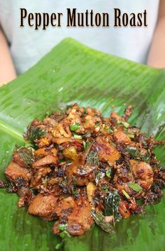 This is a easy recipe to try. A dry preparation of mutton with lots of onions, curry leaves and freshly ground pepper and fennel. So tas...