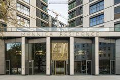Apartamenty Mennica Residence w Warszawie | Materiał elewacyjny EQUITONE [tectiva] TE10 | Architekci: BBGK Architekci | Fotograf: Bartosz Makowski. #equitonepoland #warszawa #elewacje