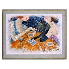 Dame de Pique - Elenart - Artiste Peintre - Décoration d'intérieur