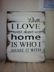 Excited to share this item from my shop: What I love most about my home is who I share it with Hand-painted wood sign, farmhouse style, farmhouse decor, home decor Painted Wood Signs, Wooden Signs, Hand Painted, Wooden Plaques, Hm Deco, Do It Yourself Baby, Home Decoracion, Pallet Signs, Pallet Quotes