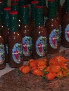 Bruce's Ghost Pepper Hot Sauce - a delicious, artisanal sauce made with farm-fresh peppers - a must try! www.brucesghostpepperz.com