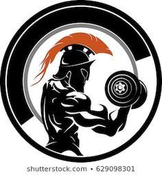 Fitness Exercises For Men - Yoga Fitness Tips - Fitness Photography Plank - - Fitness Body Spartan Logo, Spartan Tattoo, Spartan Warrior, Spartan Helmet, Spartanischer Helm, Arte Do Hulk, Apollo Mythology, Bodybuilding Logo, Bodybuilding Clothing