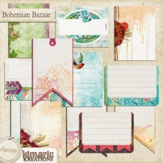 Bohemian Bazaar (journal pack)