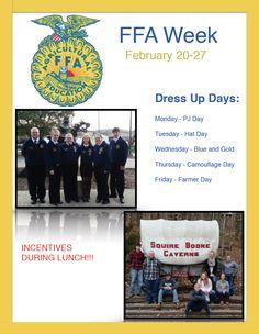 FFA Week   Nationally Recognized Days   Pinterest   FFA