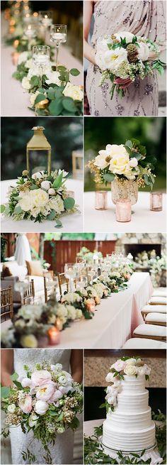 Featured Photographer: Alisha Crossley Photography; elegant wedding reception