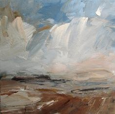 Burnt Sienna Coast, Looking Out Louise Balaam