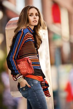 Olivia Palermo, don't like the sweater but the shot is gorgeous
