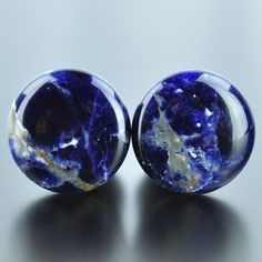 Sodalite Single Flare # SD-011-3-S