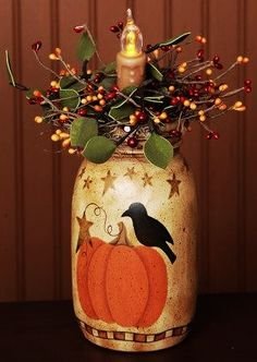 Primitive Candle...