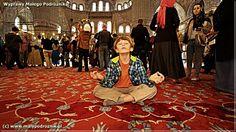 Turkey - Istanbul (Turcja, Stanbuł) #Istanbul Blue Mosque (Błękitny Meczet)  - blog  http://malypodroznik.pl/swiat/turcja2014/tur14_blog00.htm
